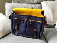 NEW Brompton Game Bag Navy with Frame