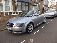 Audi TT RARE AVUS SILVER & RED NAPA LEATHER FSH 54 plate 1.8T quattro 180bhp only 82,600 miles