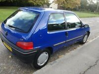 very smart peugeot 106 low insurance and tax