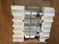 BELLING GHU60GE NEW STAINLESS STEEL GAS HOB 4 BURNER
