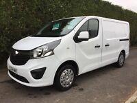31/12/2014 Vauxhall vivaro 2700 cdti low mileage finance available