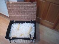 Hamper picnic display basket wicker