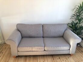 Grey DFS 3 Seater Sofa. EXCELLENT CONDITION. Dog/smoke free home