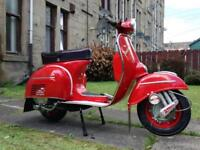1966 vespa ss180 p200 engine mot and tax exempt