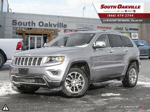 2016 Jeep Grand Cherokee Limited | 4X4 | BACKUP CAMERA | HEATED