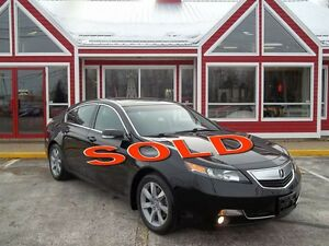 2012 Acura TL SUNROOF!!! HEATED LEATHER!! POWER DRIVER & PASSENG