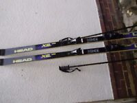 Men's downhill skis