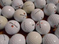 40 Wilson Staff Golf Balls. Various types incl. many DX2 Soft. Grade A/Pearl Grade.