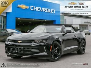 2018 Chevrolet Camaro 1LT CONVERTIBLE / REAR VISION CAMERA /...