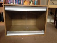 Reptile Vivarium with lock and 2 keys for Sale.
