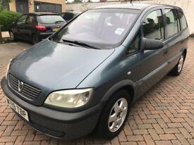 07521 754059 Still for sale - 2004 - Vauxhall Zafira 16V – 7 seats