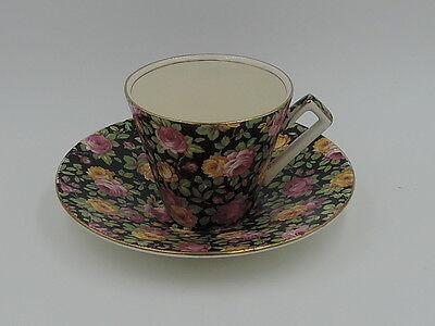 Vintage Royal Winton Chintz Beeston Cup   Saucer Teacup