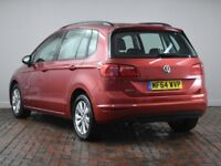 VOLKSWAGEN GOLF SV 1.6 TDI 110 SE 5DR (red) 2014