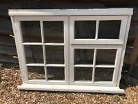 Reclaimed Wooden Window