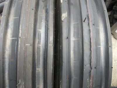 One 11.00x161100x1611.00-16 Deere Ford Ten Ply 3 Rib Tractor Tire Wtube