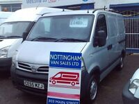 NISSAN INTERSTAR SWB NO-VAT