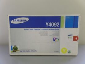 Geniue Samsung Yellow Toner Cartridge Series CLP-31x/CLX-317x