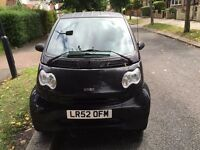 Smart Car Diesel, Black, 2004, LHD, 40K, Black, Quick Sale