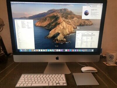 " Apple iMac 27"" Late 2013 Boxed - i7 3.5GHz - 32GB - 250GB SSD - GTX 780M - 4GB"