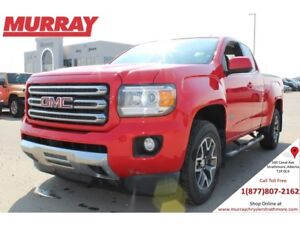 2015 GMC Canyon 4WD SLE *LEATHER! BACKUP CAMERA! BOX LINER!*
