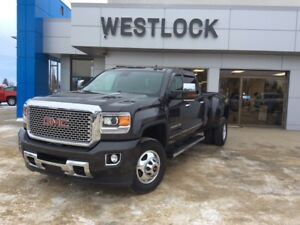 2016 GMC Sierra 3500HD Denali Heated & Cooled Premium Leather