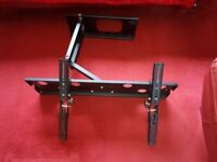 """tv wall bracket holds from 50"""" upwards tilt and pull out from wall very sturdy"""