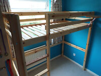 Thuka Pine High Loft Bed