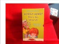 Horrid Henry hard cover books box set of 15