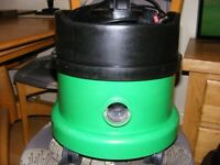 Henry Hoover Numatic Green with NEW Tools and New Filter/bag
