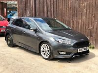 2017 67 FORD FOCUS ST-LINE 1.0 ECOBOOST AUTOMATIC 5 DOOR DAMAGED SALVAGE REPAIRABLE