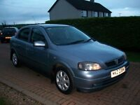 Mar 2004 Vauxhall Astra ACTIVE