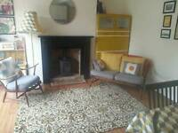 Large Retro rug