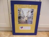 FRAMED OASIS RECORD ALBUM COVER OF WHAT'S THE STORY MORNING GLORY IN GOOD CONDITION ONLY £10