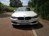 2013 BMW 3 Series 318D Auto Pearl White