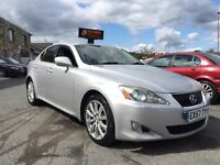 Lexus IS 250 2.5 SE-L 4dr F.S.H++HUGE SPEC++WARRANTY! 2007 (57 reg), Saloon