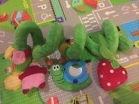 Activity spiral toy