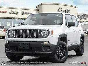 2016 Jeep Renegade SPORT | 4X4 | X COMPANY DEMO | U CONNECT | RE