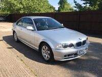 BMW 318Ci COUPE SILVER SPARES OR REPAIR