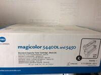 Konica Minolta - Genuine Magicolor 5440DL black standard cartridge Ink.