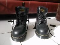 NEW - DOC MARTENS INDUSTRIAL STEEL TOE - 10'S - BOOTS FOR SALE
