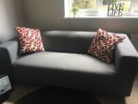 Brand new ikea sofa in grey, retails at 170 pounds new. In perfect condition ready for collection