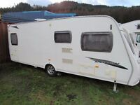 Lunar Lexon Fixed Bed 4 Berth Touring Caravan 2009