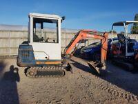 Kubota KX41 1.5 tonne mini digger Full cab 3700 hrs