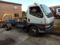 Breaking 2002 Mitsubishi canter 7.5t