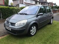 Renault Megane Scenic 2005 2 Keys LOW MILEAGE BARAGIN!!!