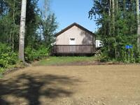 cabin and lot by the shores of slave lake fore Rent