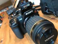 Sony Alpha a350 DSLR Camera 14.mp with kit