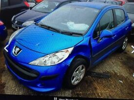 PEUGEOT 207 S 1.4 8FS DAMAGED SALVAGE BREAKING SPARE PARTS 2006-2012