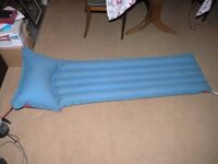 Inflatable Single Camping Bed complete with Pump Weymouth