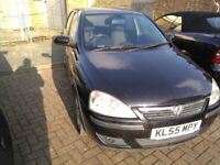 2005 Vauxhall Corsa 1.2 5 Door Black BREAKING ALL PARTS AVAILABLE